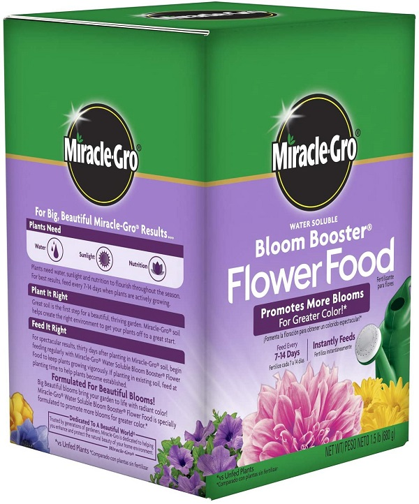 Miracle-Gro Garden Pro Bloom Booster Review